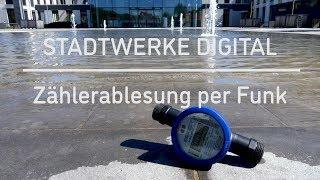 Stadtwerke Digital - Wasserzähler per Funk ablesen