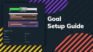 How to Setup Streamlabs Goal Widget