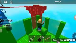 ROBLOX kule patlatıyoruz