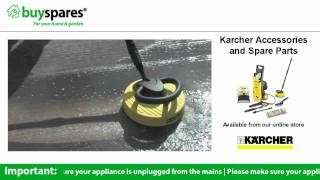 how to use the t racer attachment on a karcher pressure washer