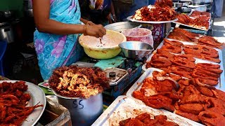 South Indian Street Food Tour in Salem, Mettur Special    Street Food in India BEST Seafood