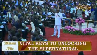 Bishop Oyedepo @ Vital Keys to Unlock the Supernatural [Special Healing (1st) Service 06/11/17]