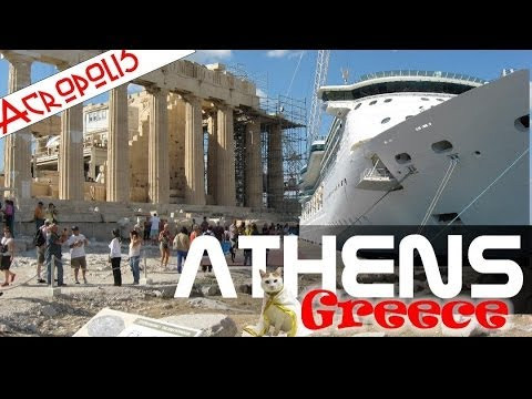 Athens Greece Acropolis Parthenon City Tour -  Mediterranean Cruise Aboard Royal Caribbean