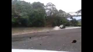 Troopers en Rio Tulin, Costa Rica / Isuzu 4x4 CR
