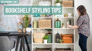 How to Style a Bookshelf | 5 Easy Steps!