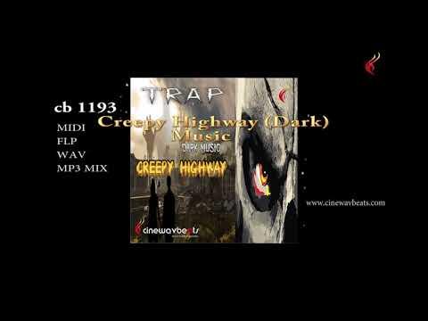 Dark cinematic music pack, Creepy Highway, Key C sharp min, Bpm  135, cinewavbeats