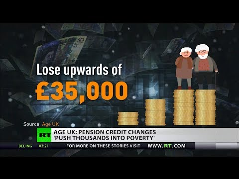 Age UK: Pension Credit Changes 'push Thousands Into Poverty'