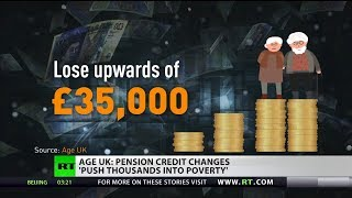 Age UK believes that pensioners could lose up to £7000 a year in be...