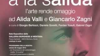 """""""A la Salida""""  Omaggio ad Alida Valli e Giancarlo Zagni opere"""
