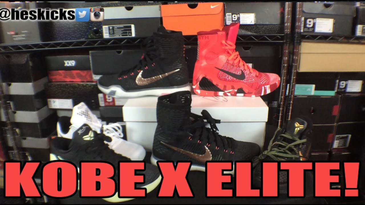 bdec9878ea40 Performance vs Lifestyle Sneakers  Nike Kobe X 10 Elite Comparison Review  On feet