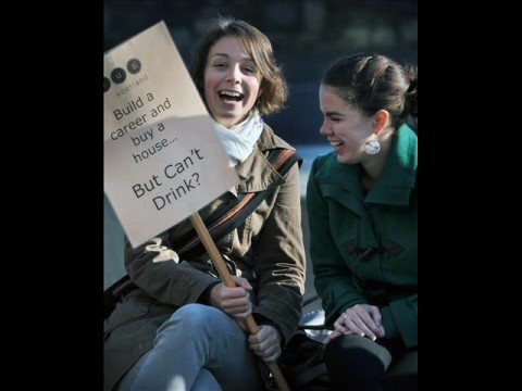 Protest Youtube Rise Drinking Age -