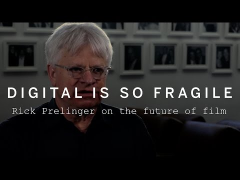 DIGITAL IS SO FRAGILE | Rick Prelinger on the future of film