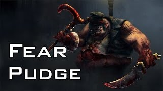 Fear Pudge | Dota 2 gameplay