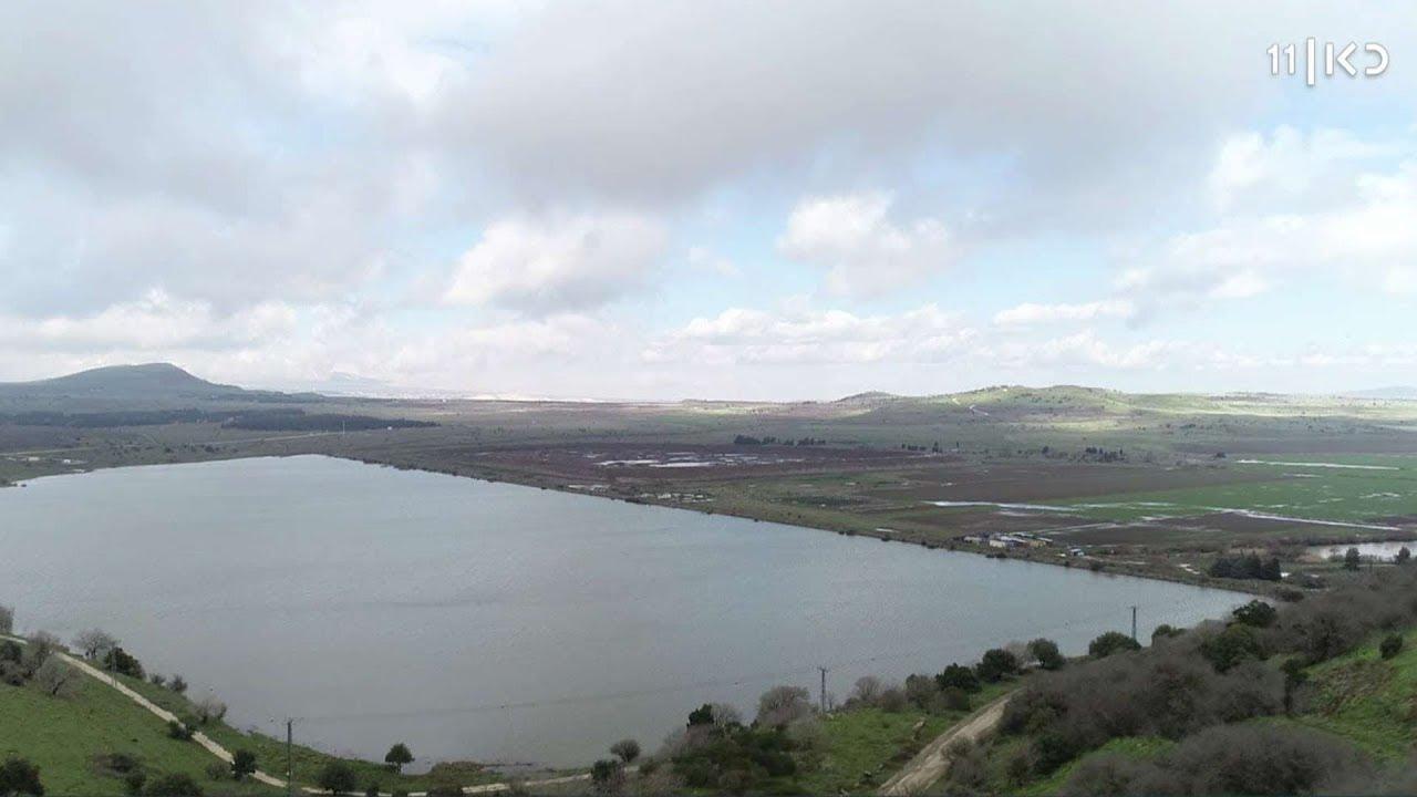 """""""מאז ינואר החיוך לא יורד"""": אחרי 5 שנות בצורת, מאגרי המים מתמלאים"""