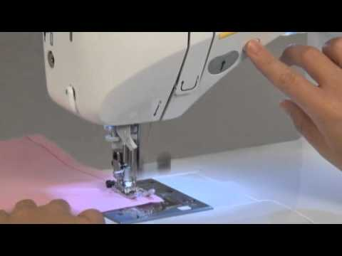 JUKI HZL F600 introduction and operation