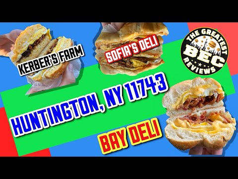 BACON EGG AND CHEESE REVIEW *Huntington, NY 11743* (BEC REVIEWS) 3 STOPS !!!