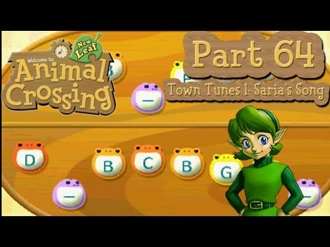 Animal Crossing: New Leaf - Part 64: Town Tunes 1: Saria's Song