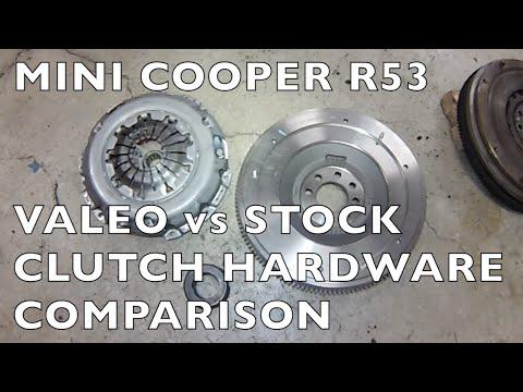MINI Cooper S Valeo vs Stock Clutch HW Compare 20022006