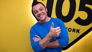"""Tiziano Ferro a 105 Mi Casa: """"Mi sento nel posto giusto"""""""