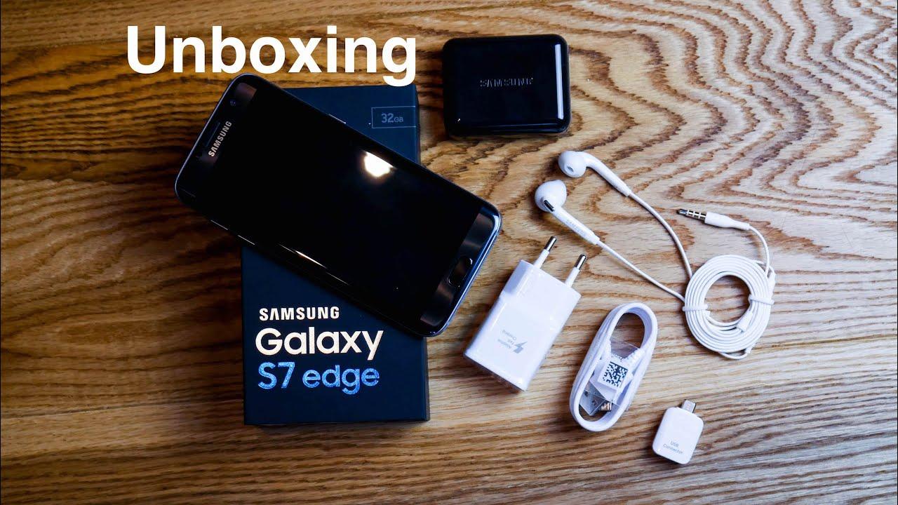 Samsung galaxy s7 edge unboxing deutsch 4k youtube - Samsung Galaxy S7 Edge Unboxig Ruben Orfeo 4k