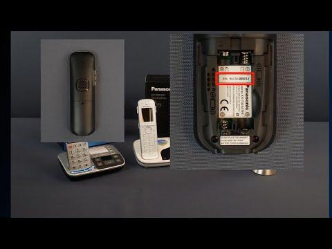 Seriennummer Finden - DECT-Telefon