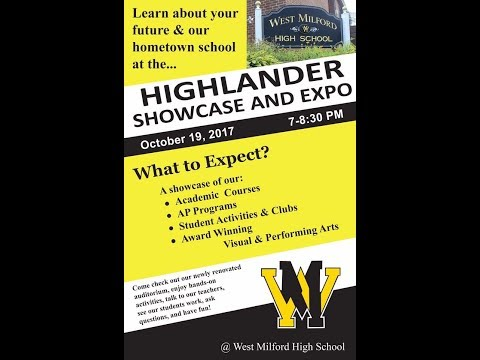 West Milford High School Highlander Showcase Expo 2017