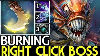 BURNING [Slark] Right Click Boss Annoying Items Build 7.22 Dota 2