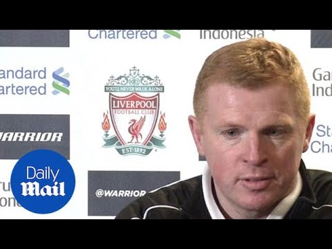 Neil Lennon: We were running out of fumes at the end vs Liverpool - Daily Mail