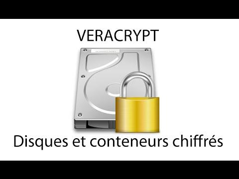 Veracrypt - Disques et conteneurs chiffrés