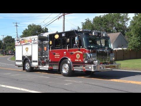 2017 Columbia County NY Volunteer Firemens Parade 7/29/17
