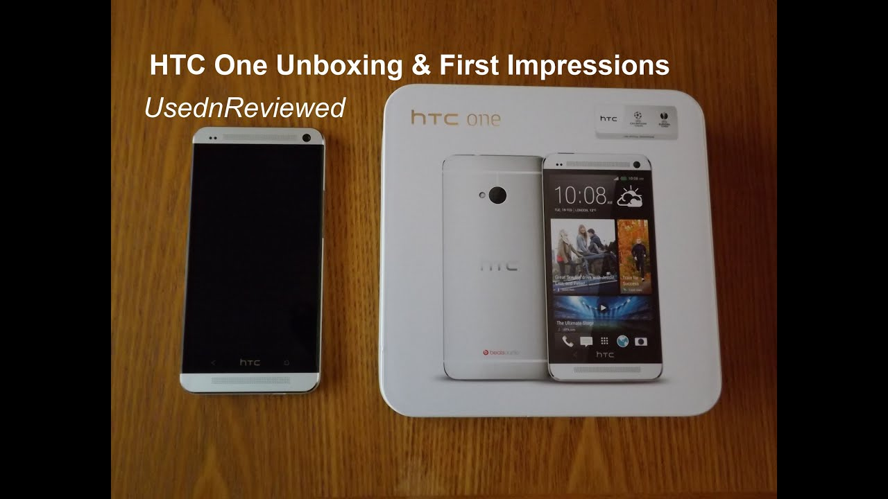 HTC One (M7) Unboxing and First Impressions