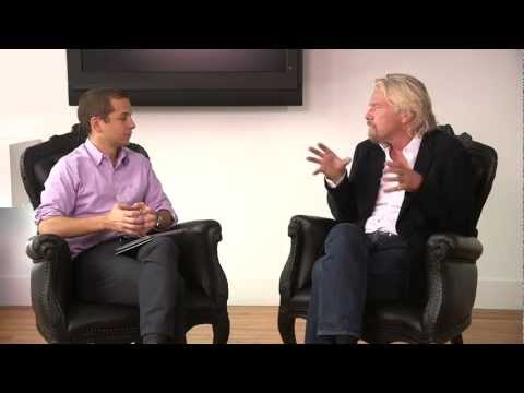 Richard Branson Explains His Secrets to Success