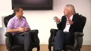 Richard Branson Explains His Secrets to Success