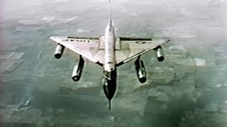 B-58 Hustler Supersonic Bomber Wins the Bendix Trophy (Restored Color -1962)