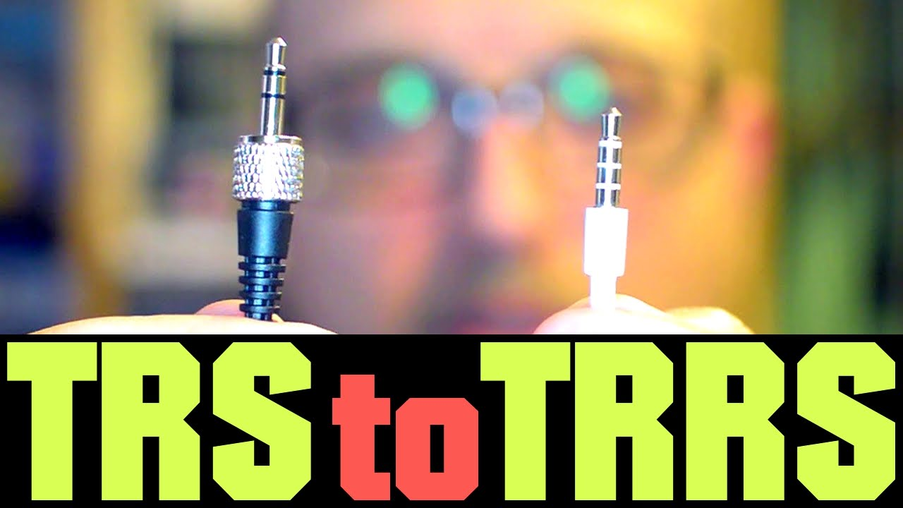 Trs To Trrs Diy External Mic For Phone Youtube