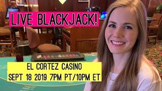 Live Blackjack!! $1000 Starting Bankroll! Sept 18 2019