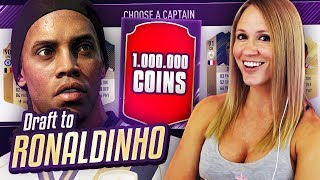 I GOT 1,000,000 COINS!! DRAFT TO RONALDINHO #23 | FIFA 18