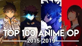 My Top 100 Anime Openings (2015-2019)