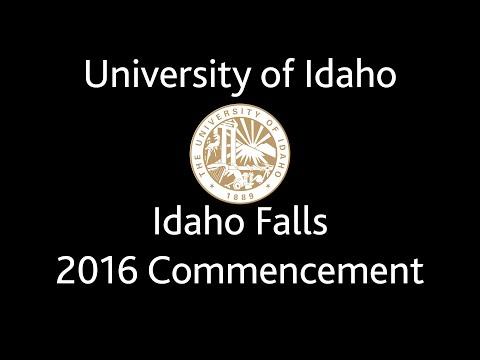 University of Idaho - Idaho Falls Commencement 2016