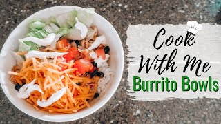 Cook with Me - Burrito Bowls | Easy Family Recipes | DandV's Family