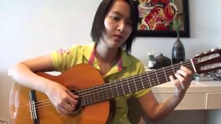 Doraemon Opening Theme Fingerstyle Guitar