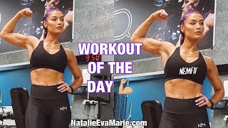 NEMFIT Workout of the Day | NatalieEvaMarie