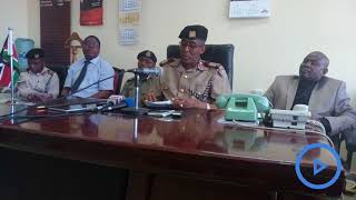 Kisumu County commissioner denies the presence of mass graves
