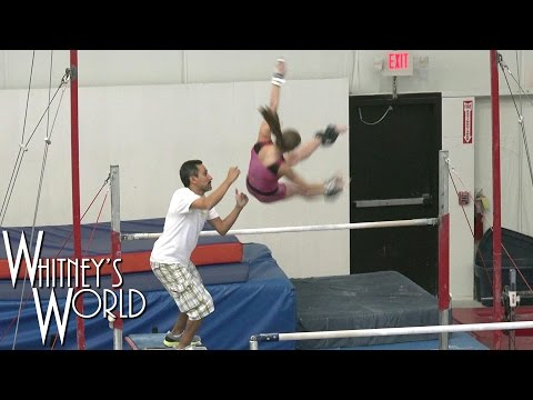 Uneven Bars Workout Catching Giengers | Whitney Bjerken