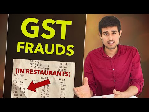 GST Bills in Restaurants by Dhruv Rathee | Goods and Services Tax