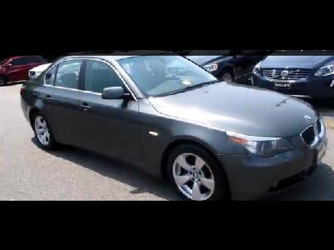 BMW I Walkaround Start Up Tour And Overview YouTube - Bmw 540i 2005
