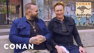 Conan Visits The National Centre Of Indigenous Excellence - CONAN on TBS