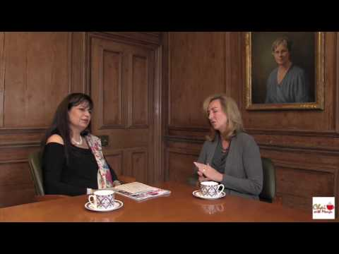 On Chai With Manju, Babson President Kerry Healey Talks About  Education and Bond With India