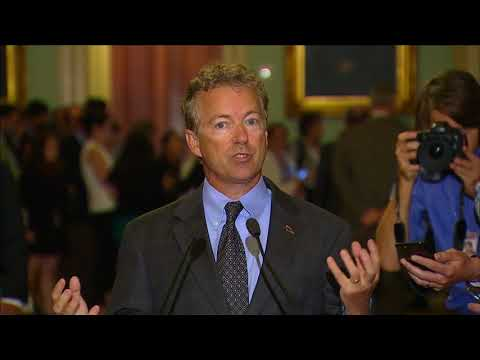 Sen. Paul: 'I'm in favor of moving forward with partial repeal'