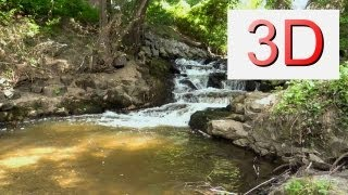 3D Video: Waterfall Relaxation #8